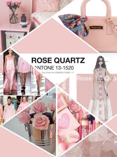 ROSA CUARZO; Pantone 2016