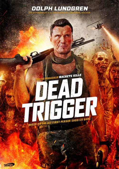 Dead Trigger 2018 English 250mb Hdrip 480p Hollywood Hindi