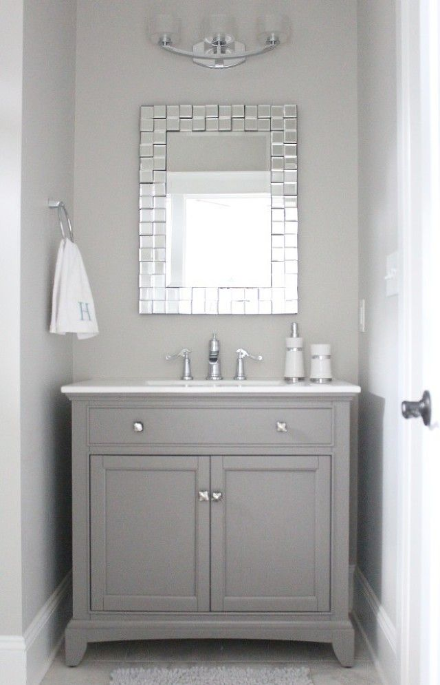 I love this vanity and mirror