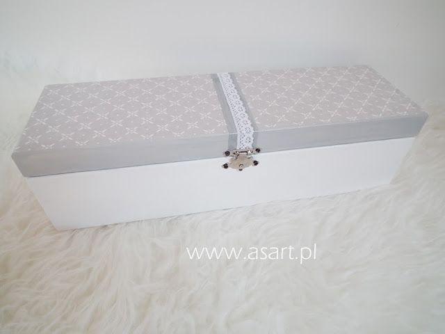 pudełko decoupage