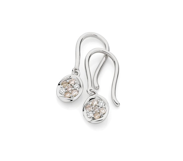 Dreamtime 0.20ct TDW Argyle Diamond Earrings, Earrings, SJ2976
