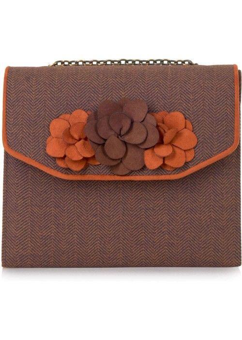 Ruby Shoo Oslo Box Bag Brown