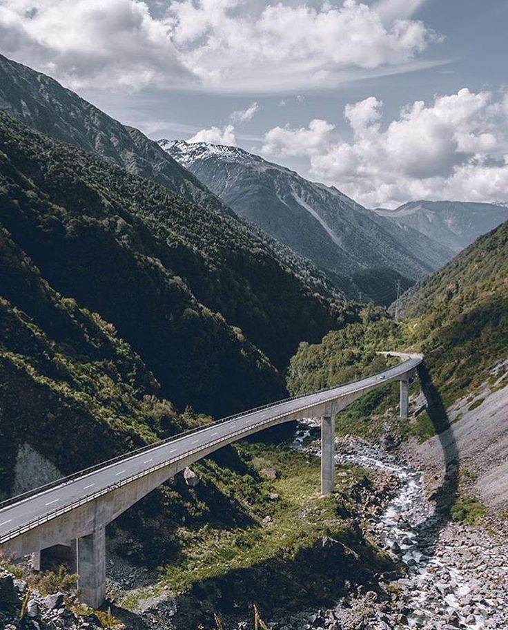 "New Zealand on Instagram: ""A journey to remember. #NZMustDo [📍Arthur's Pass, South Island. 📷: @bennymabazza] #Travel #NewZealand #NZ #Nature"""