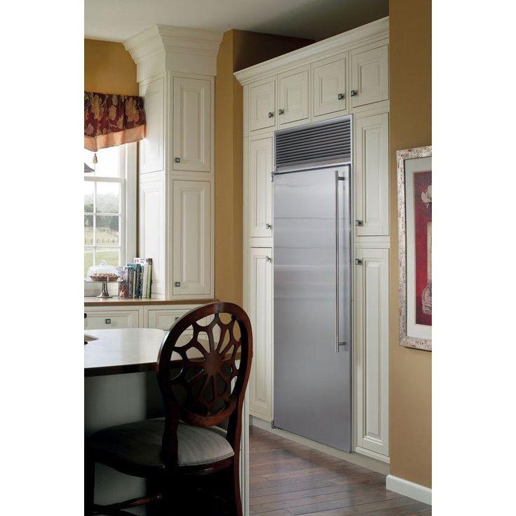 """Marvel M30ARSSL 30"""" Stainless Steel Door Counter Depth Built In Freezerless Refrigerator - Left Hinge"""