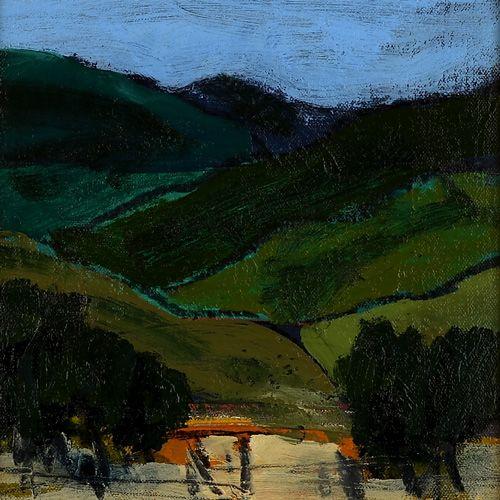 Landscape oil painting 08-039