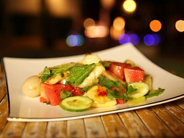 Thailändsk frukt med mynta (kock Tina Nordström)