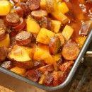 Portuguese Roasted Potatoes |