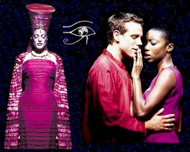 'Aida' with Heather Headley. I've got to get that soundtrack again. Don't know that Heather's ever gonna do 'Aida' again, but she was fabulous in it!