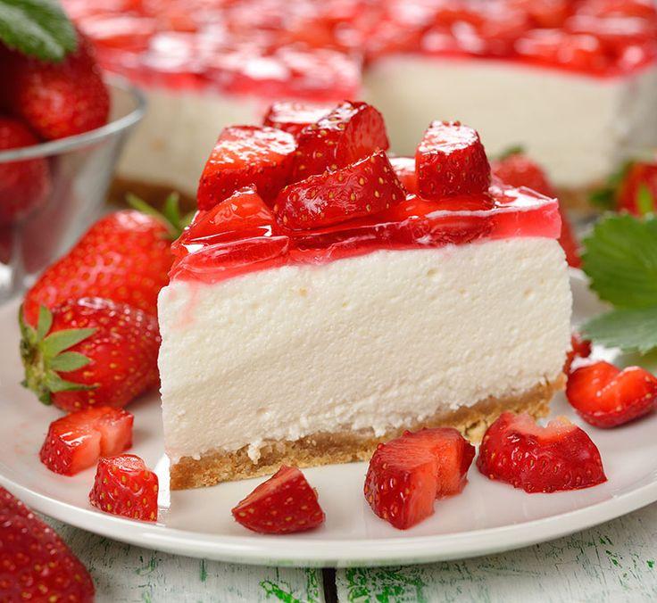 La Cheesecake senza philadelphia è una variante del famoso dolce newyorkese per coloro che non amano questo formaggio spalmabile
