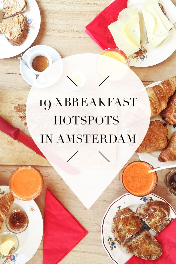 "Breakfast time in Amsterdam! Want to know which hotspots are a must visit? Check out the list on travel blog http://www.yourlittleblackbook.me to find out where the best cafes, restaurants and bars that serve breakfast are located. Planning a trip to Amsterdam? Check http://www.yourlittleblackbook.me/ & download ""The Amsterdam City Guide app"" for Android & iOs with over 550 hotspots: https://itunes.apple.com/us/app/amsterdam-cityguide-yourlbb/id1066913884?mt=8 or…"