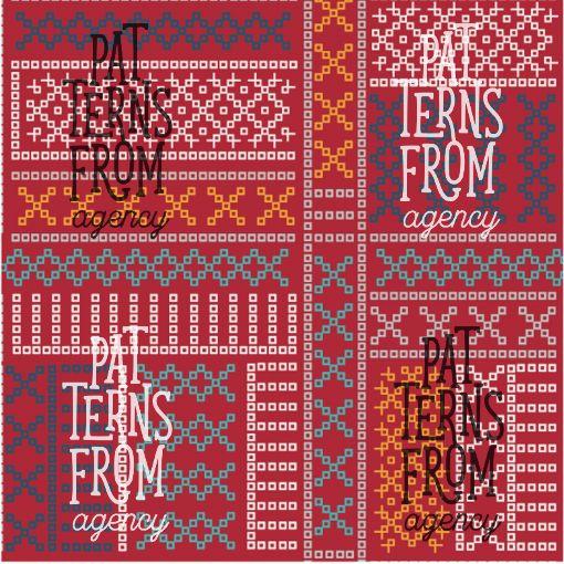 Tanja Kallio: Luhti – Reko #patternsfromagency #patternsfromfinland #pattern #patterndesign #surfacedesign #printdesign #tanjakallio