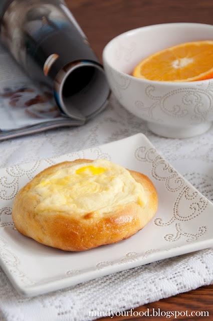 Petites brioches au fromage blanc