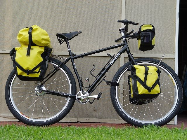 Surly Ogre Loaded Bags Touring