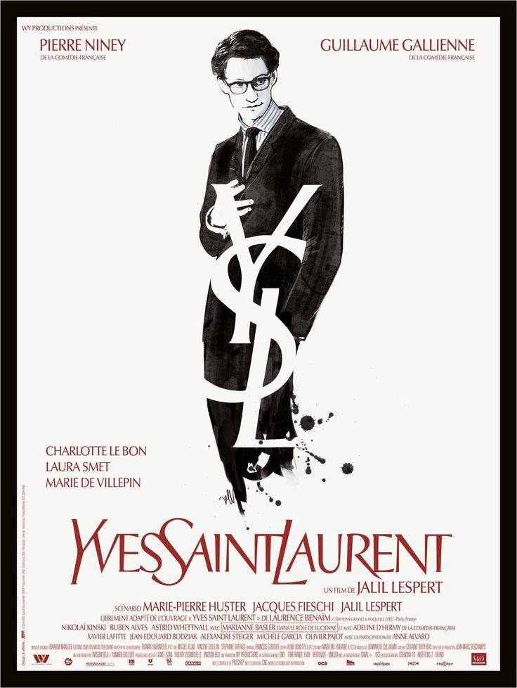 Yves Saint Laurent (2014) - Paris, 1957. A tout juste 21 ans, Yves Saint Laurent est appelé à prendre en main les destinées de la prestigieuse maison de haute couture fondée par Christian Dior, récemment décédé. Lors de son premier défilé triomphal, il fait la connaissance de Pierre Bergé, rencontre qui va bouleverser sa vie. Amants et partenaires en affaires, les deux hommes s'associent trois ans plus tard pour créer la société Yves Saint Laurent.