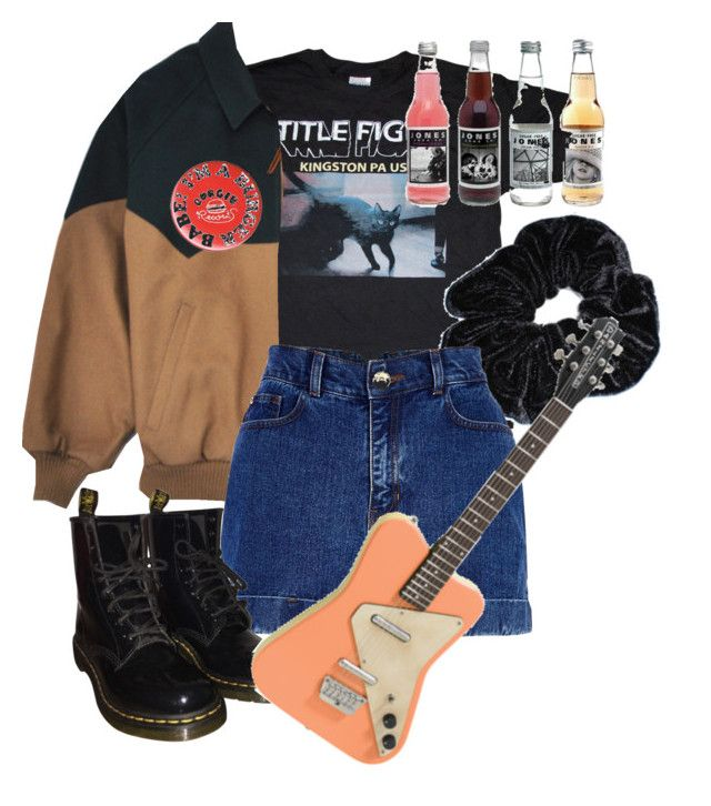 """timeless"" by paigealexandrialee on Polyvore featuring River Island and Dr. Martens"