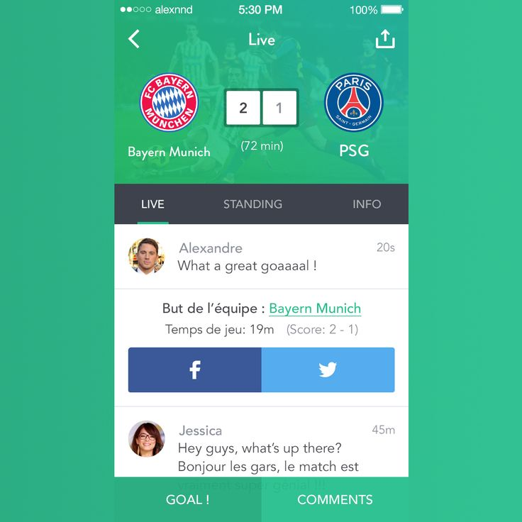 Live Football App. #fresh #amazing #new #nice  #app #mobileapp #live #football #sports  #sportsnews #iphone  #android