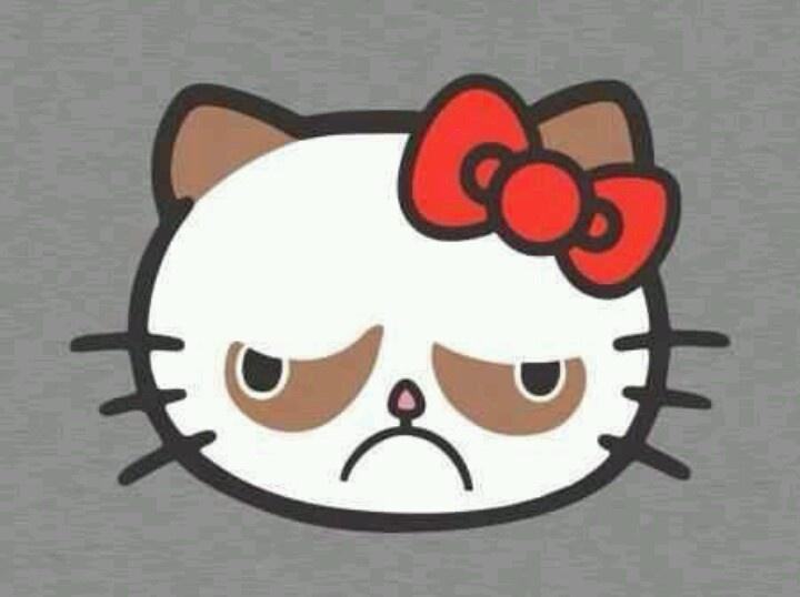 Hello grumpy cat - image for mug