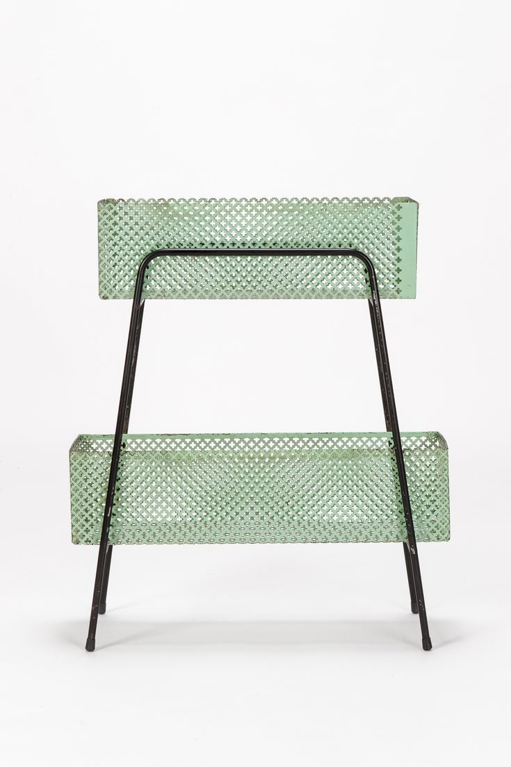 MATHIEU MATEGOT, PERFORATED PLANT STAND.