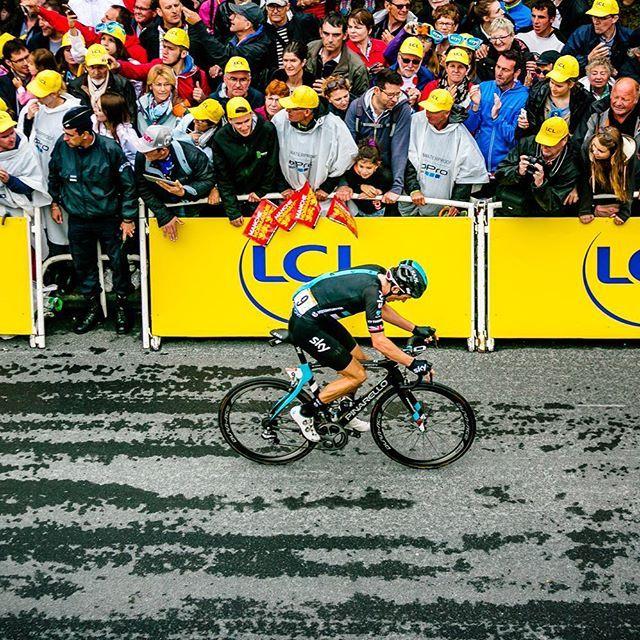 Geraint Thomas Tour de France 2016 by marshallkappel