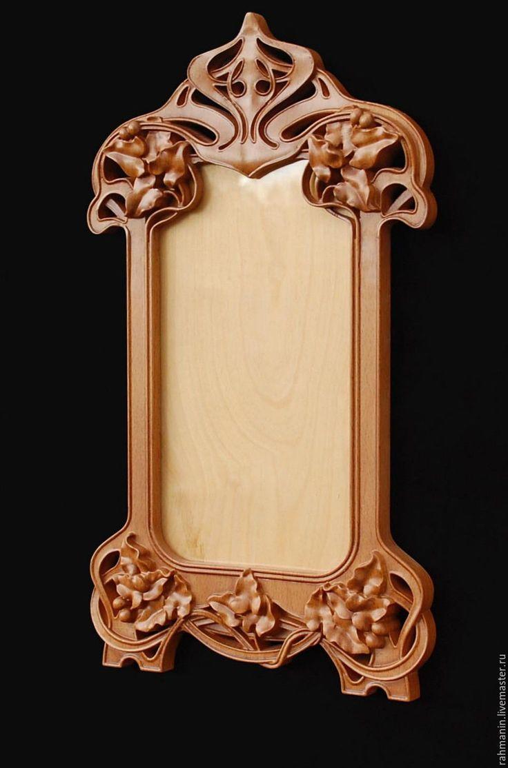 Купить Рамка для фотографии - коричневый, массив дерева, винтаж, модерн, art nouveau, art, прованс