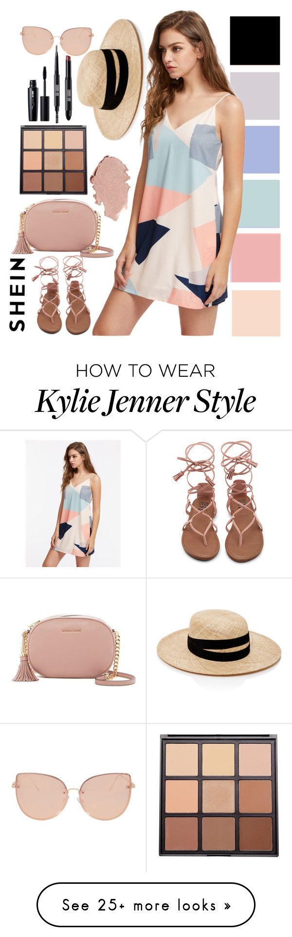 """""""SheIn Chic"""" by szeying00 on Polyvore featuring MICHAEL Michael Kors, Topshop, Morphe, Janessa Leone, chic, stylish and shein"""