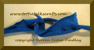 Cómo unir tiras de trapillo sin coser ni hacer nudos