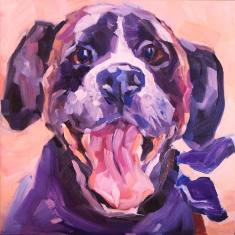 Happy To See Me VII, painting by artist Nancy Spielman