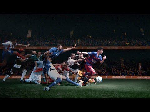 (1) Gatorade | Messi | Don't Go Down - YouTube[ 當你有無數個跌倒的理由,不要跌倒 ]    你跌倒了,就沒辦法扭轉乾坤    你跌倒了,就不能讓別人相信你    他說:「不要跌倒,兄弟姊妹們」