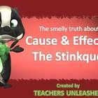 $   Is your class stinky at understanding cause and effect in sentences and paragraphs?  Have no fear!