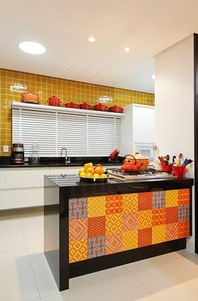 60 schöne und inspirierende gelb dekorierte Küchen Zuhause Pinterest