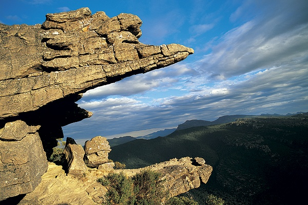 grampians national park - the balconies, halls gap: 3-4hrs travel