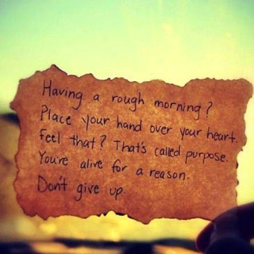 Never give up !!