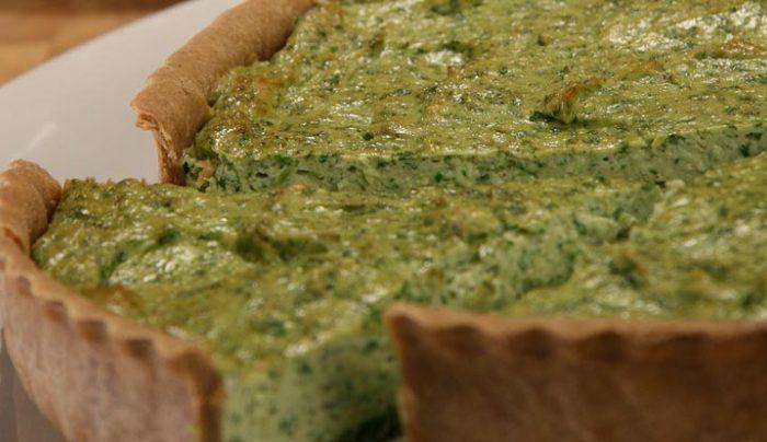 Spinach and Ricotta Tart - Good Chef Bad Chef