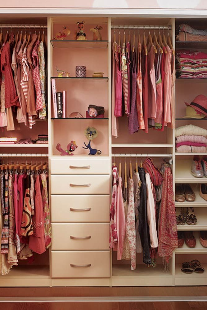 Best 25+ Girls closet organization ideas on Pinterest ...