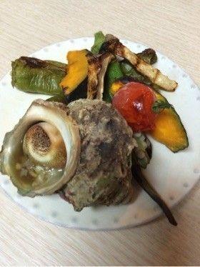 さざえと夏野菜のグリル