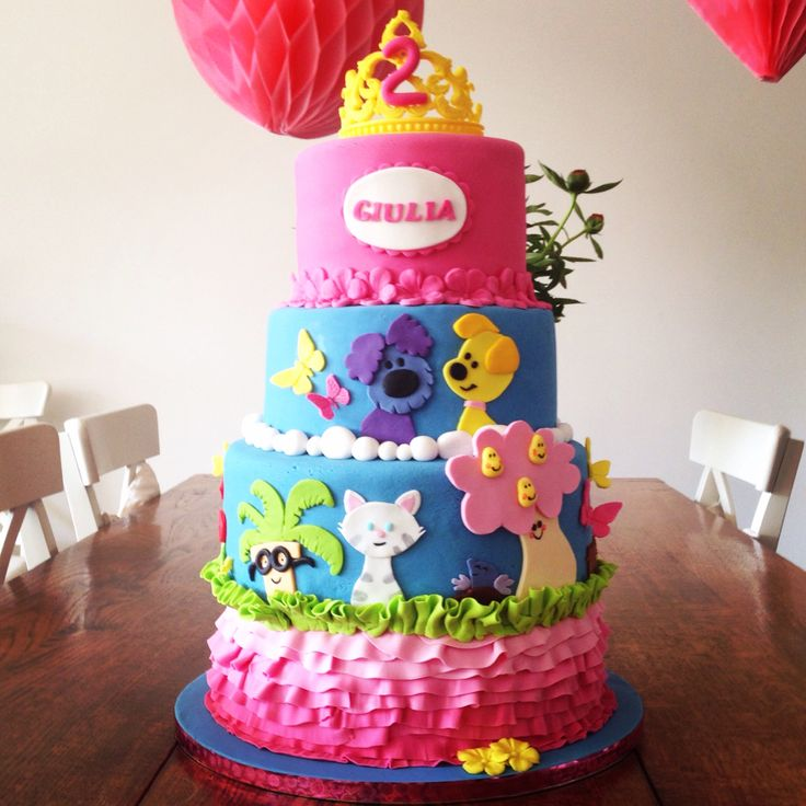 Woezel en Pip taart / Woezel and Pip cake With a touch of Princess