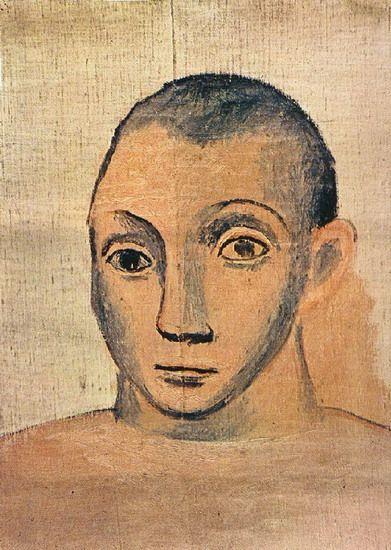 Pablo Picasso,Self-Portrait, 1940 Beautiful Art ~ not so handsome...