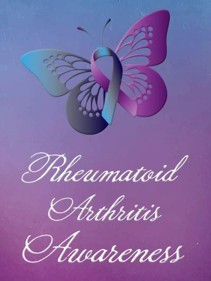rheumatoid arthritis awareness ribbon color - Google Search