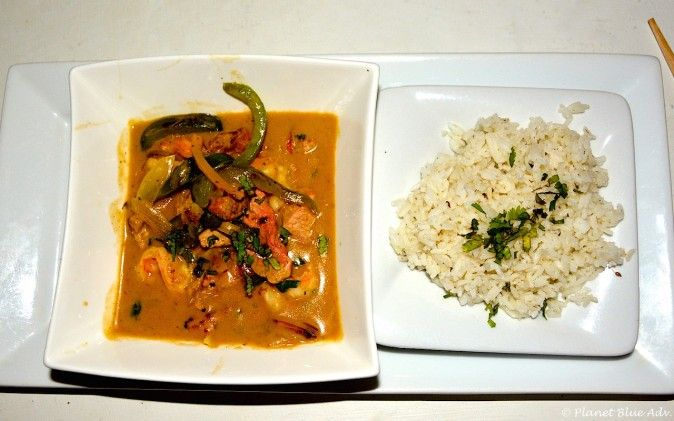 Chef Rob's Cafe - Red Thai Curry