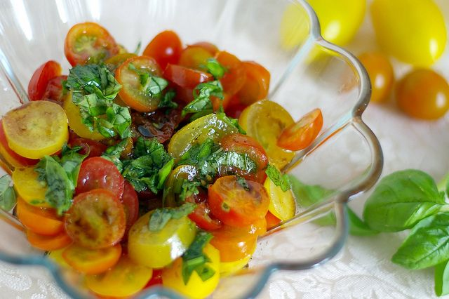 Heirloom Tomato Salad | Recipes to Try | Pinterest