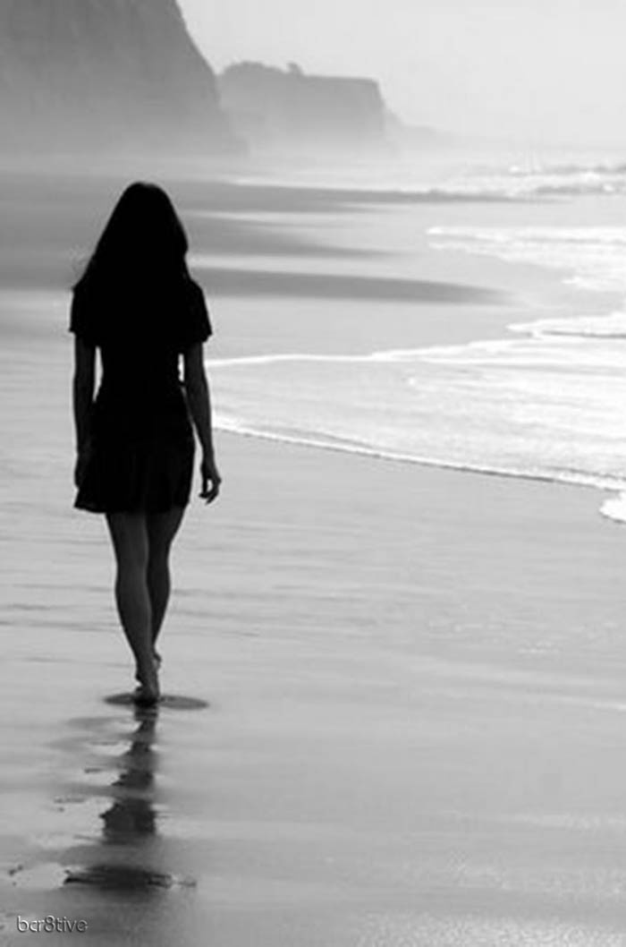 Am I walking away?  Or am I walking towards you?  Even at this point, it's all gray...there's no black and white when it comes to you