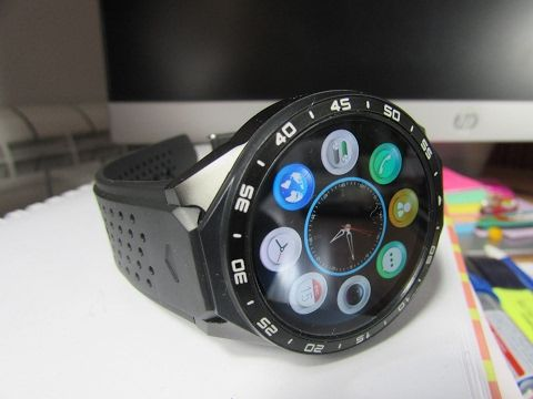(2) KW88 AMOLED Smartwatch Review - Best Smartwatch Deal! Works with iPhone and Android! - YouTube