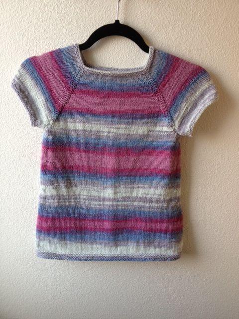 Kjole str. 2 år, strikket i Elise fra Jarbo garn