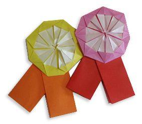 Origami Medal