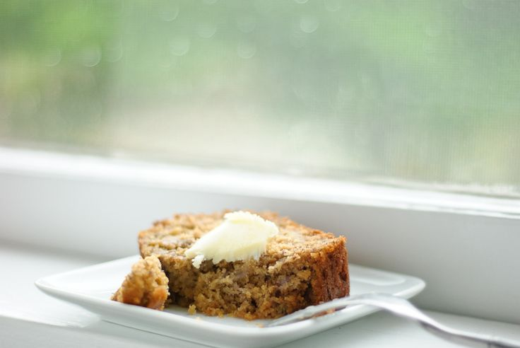 Honey whole wheat banana bread - So yummy and just what the diet ordered ;o) Leave out the eggs and it's a lovely denser bread that's Vegan friendly too with NO Sugar or Dairy :)