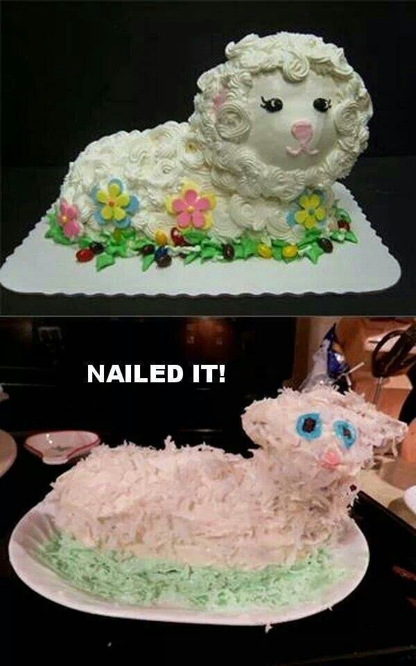 Nailed it!                                                                                                                                                                                 More