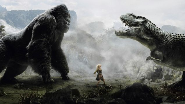 holy shit, we just saw a teaser for a new king kong movie!