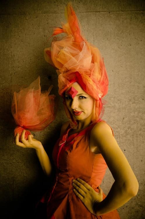 Flame Princess from Adventure Time