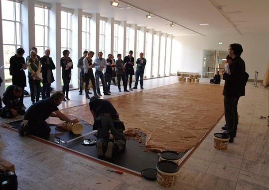 Wim T. Schippers: Pindakaasvloer (1962): Modern Art, Vans Have, Schipper, Pindakaasvlo Vans, Vans Wim, Peanut Butter, Part Vans, Floors Wim, Butter Floors