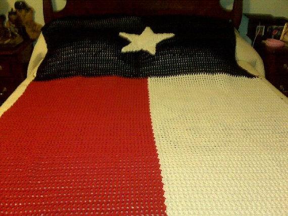 9 Best Texas Crochet Images On Pinterest Texas Flags Crochet